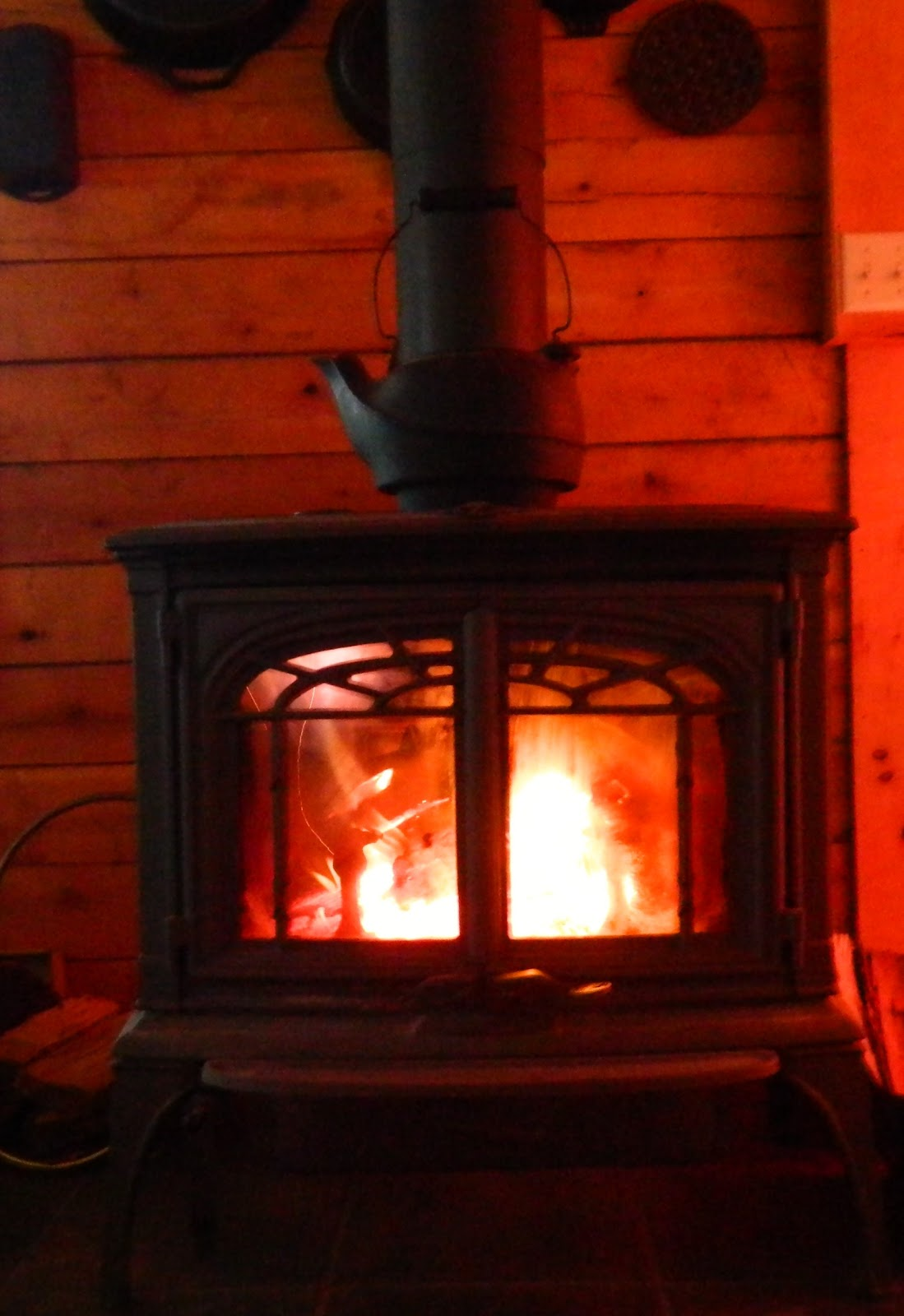 lise u0027s log cabin life wood vs electric heat
