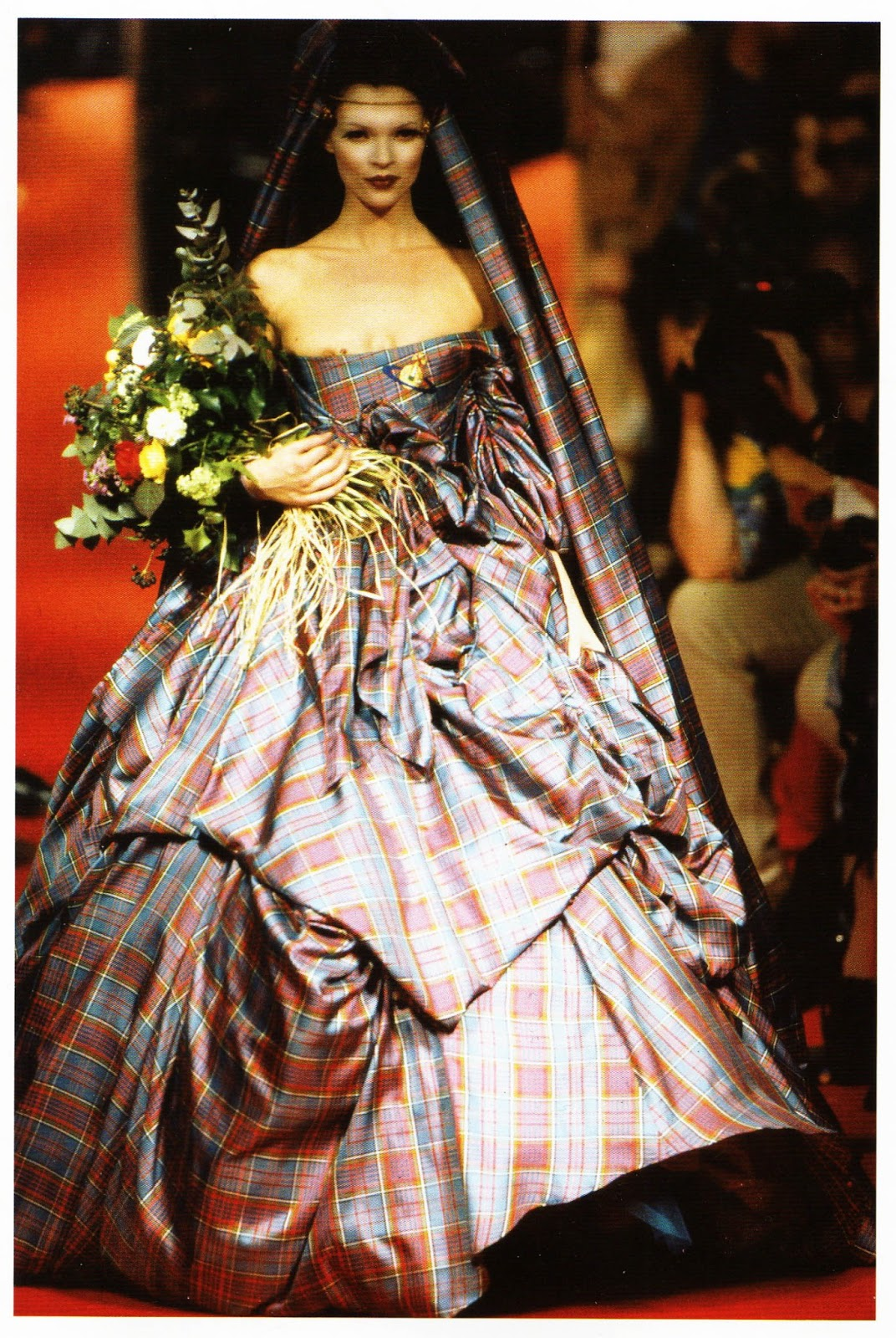 Textiles by zoe cook tartans in fashion for French couture