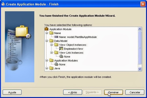 resumen application module