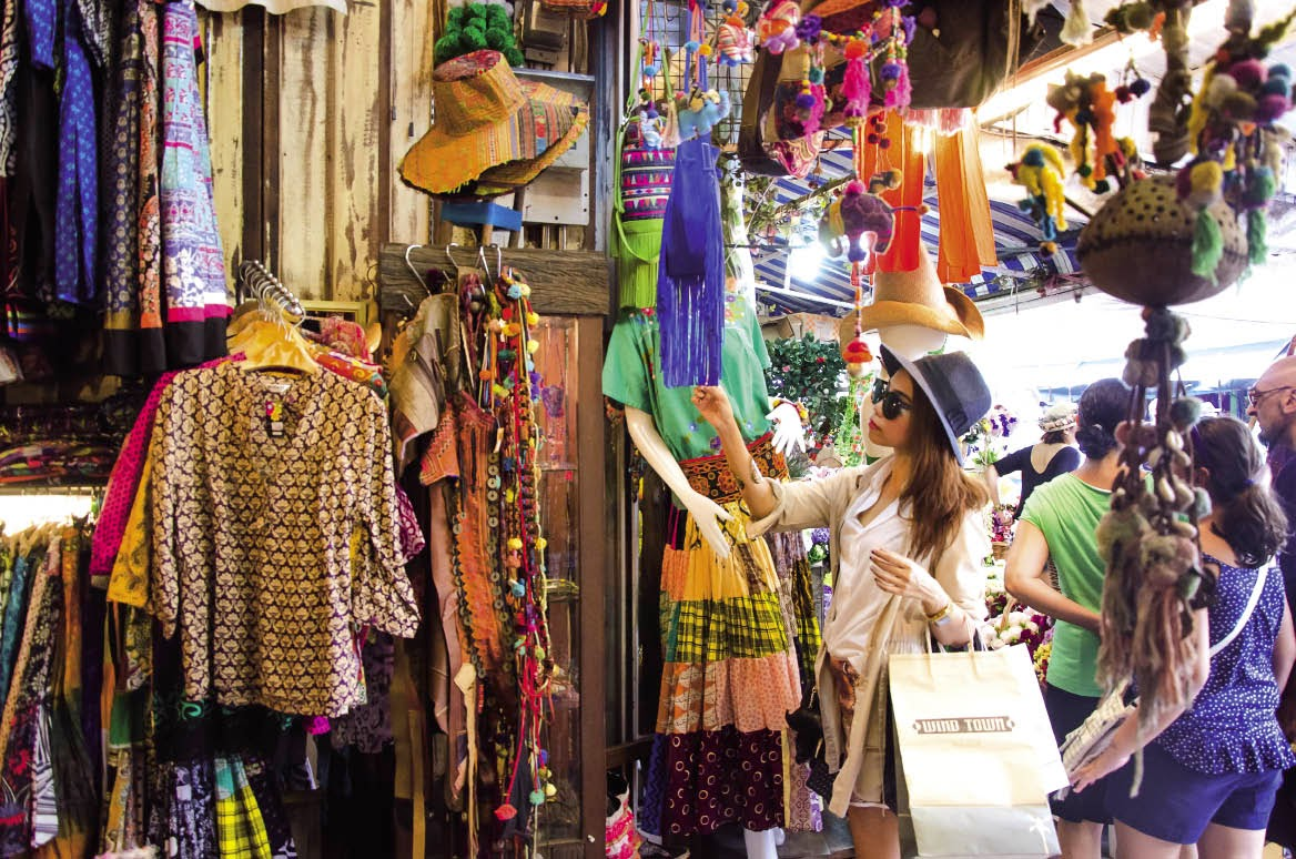 Pasar tempat wisata belanja murah di bangkok thailand - Artesania de indonesia ...