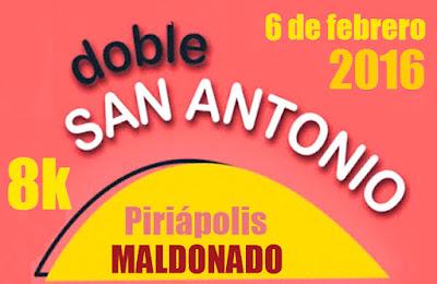 8k Corrida Doble San Antonio (Piriápolis, 06/feb/2016)