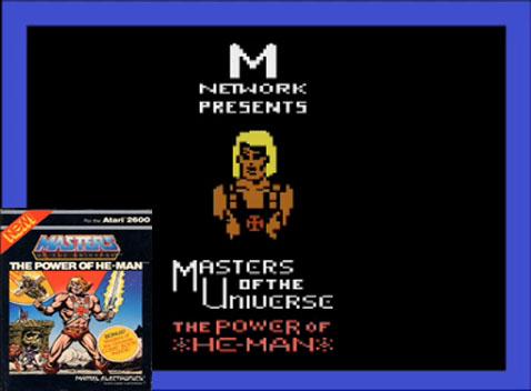 Abertura do Jogo He-man do Atari 2600