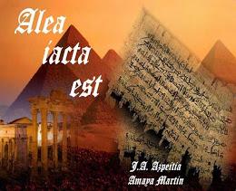 """""""Alea iacta est"""" un libro de Poesía de los poetas Amaya y Azpeitia -haz Click sobre la imagen-."""