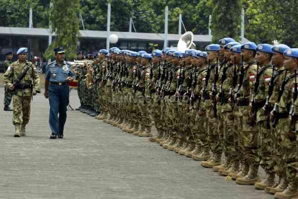 175 Prajurit TNI Terima Medali PBB di Kongo