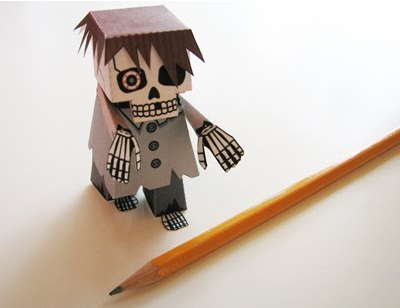 Mini skeleton zombie 3D printable