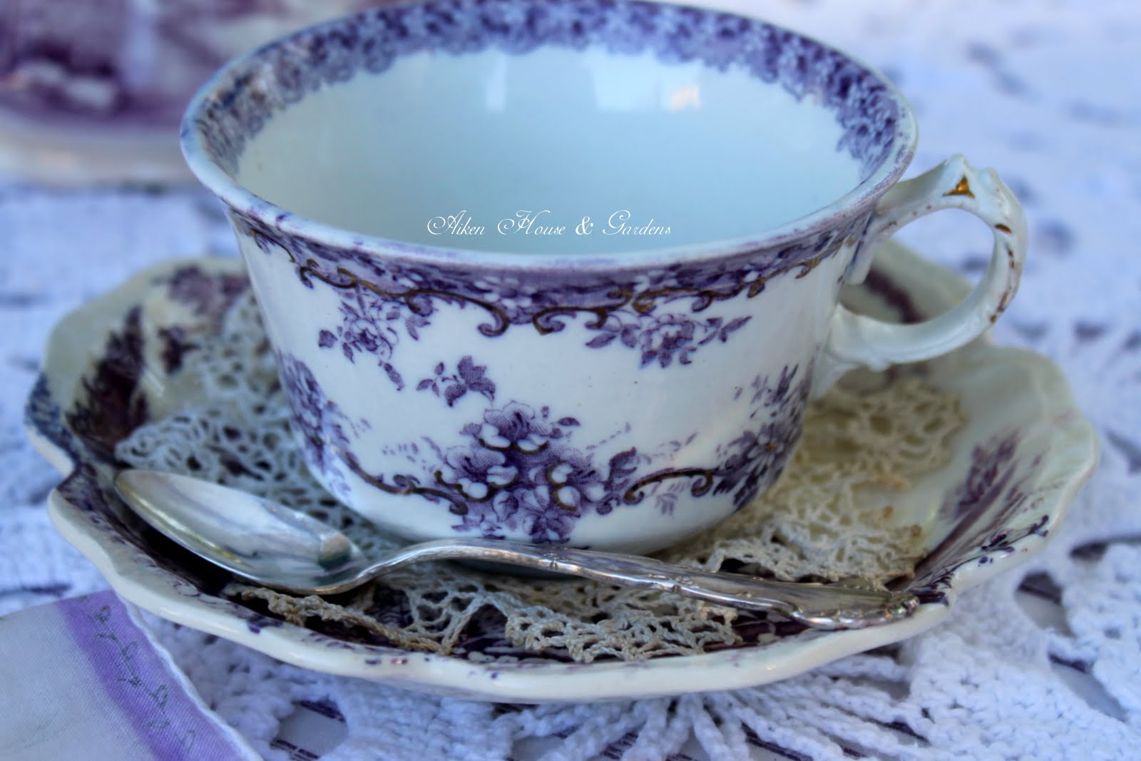 Tea with lavender