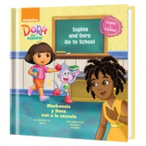 dora goes to school cover