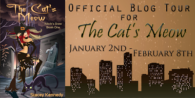 Blog Tour: The Cat's Meow by Stacey Kennedy {Guest Post & Giveaway}