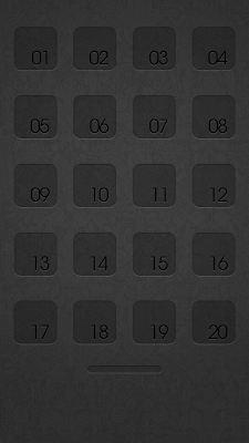 iPhone 5 Home Screen Apps Background 4