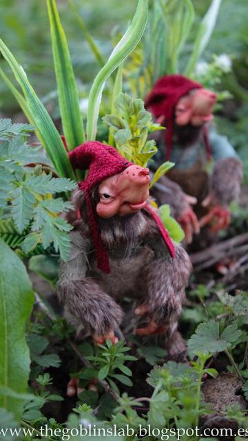 fantasy goblin creature ooak artdoll