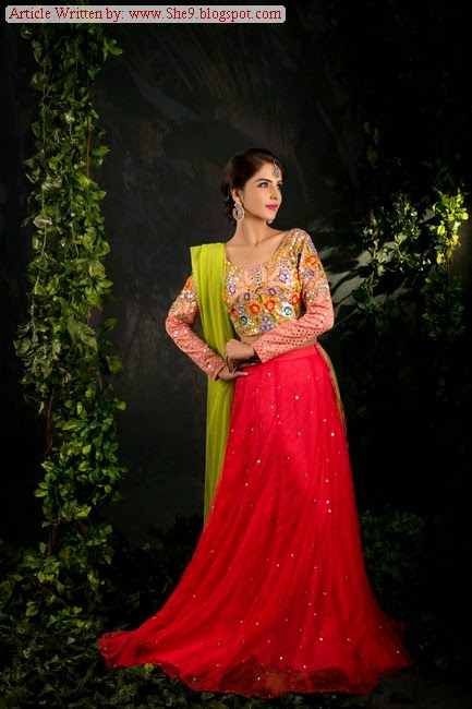 Pakistani Lehnga Choli for Girls