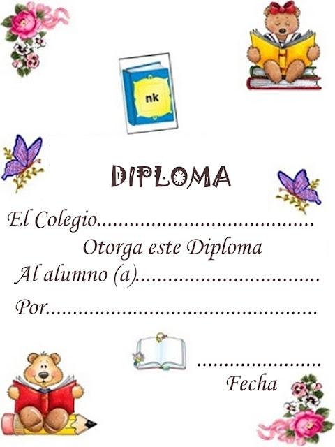 Certificados Para Imprimir De Ninos