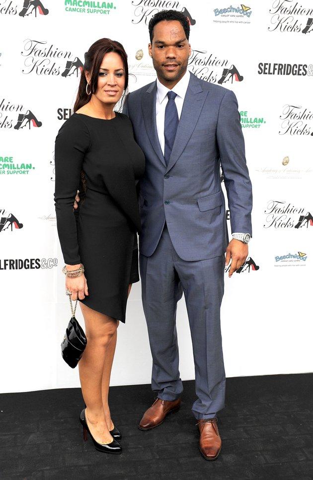 Joleon Lescott with Wife In Pics   FOOTBALL STARS WALLPAPERS