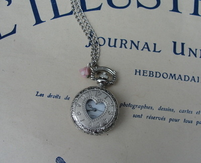 Glorious Watch Pendant Necklace Photoshoot