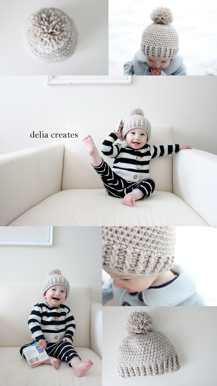 Crocheted Ribbed Beanie ? Free Pattern