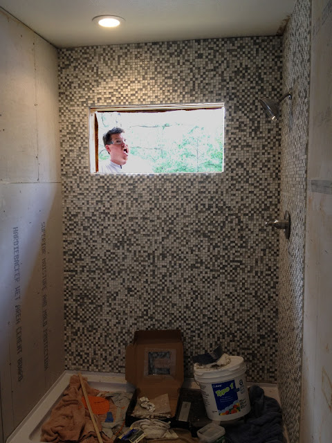 The House Is Going To Be Great A Shower Of Tiles