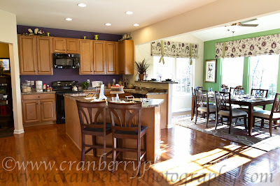 Ryanhomes venice model pittsburgh model and selections for Kitchen morning room designs