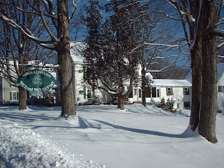 White Cedar Inn in Winter