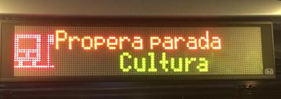 Propera parada: cultura