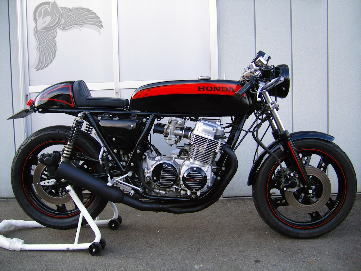 honda cb750 cafe - right | rocketgarage