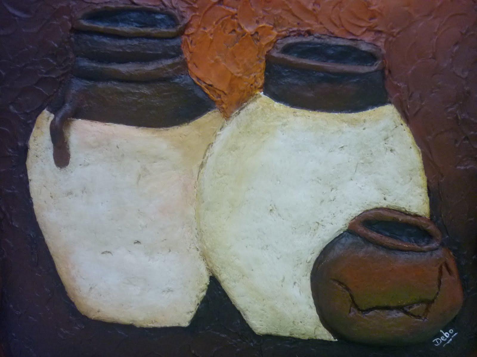 CREACIONES DE SILVIA: Papel Mache, por DEBORA K.
