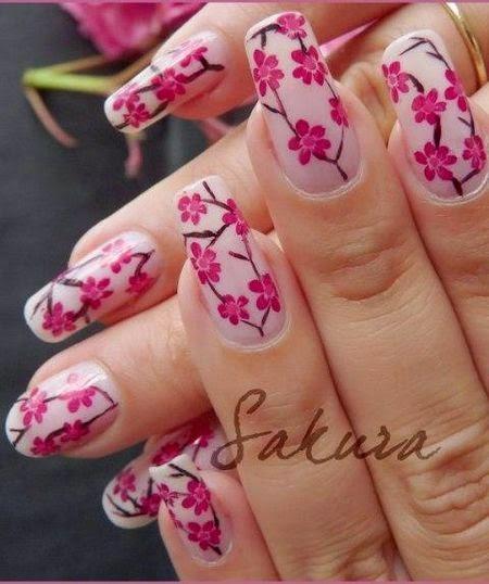 Pink flower nail arthttprefreshrosespot easy simple spring flower nail art designs trends ideas 2014 flower nail designs pink colour prinsesfo Image collections