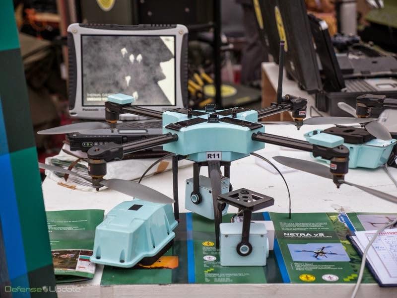 NETRA V2 multirotor micro UAV