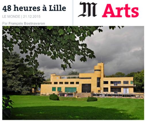 Il est urgent d'aller à Lille !