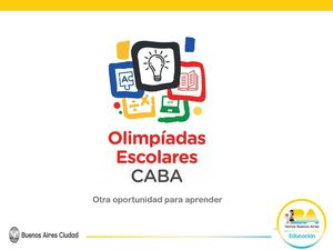 Olimpíadas escolares CABA 2018