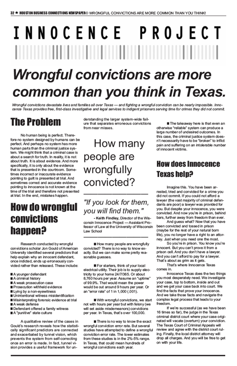 PAGE 32 - HOUSTON BUSINESS CONNECTIONS NEWSPAPER© RUNOFF ELECTION - PART 1 OF 3