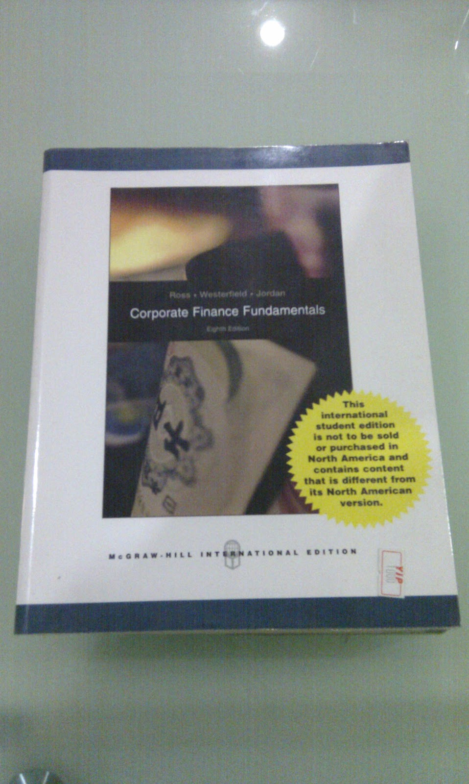 corporate finance ross westerfield 9th edition