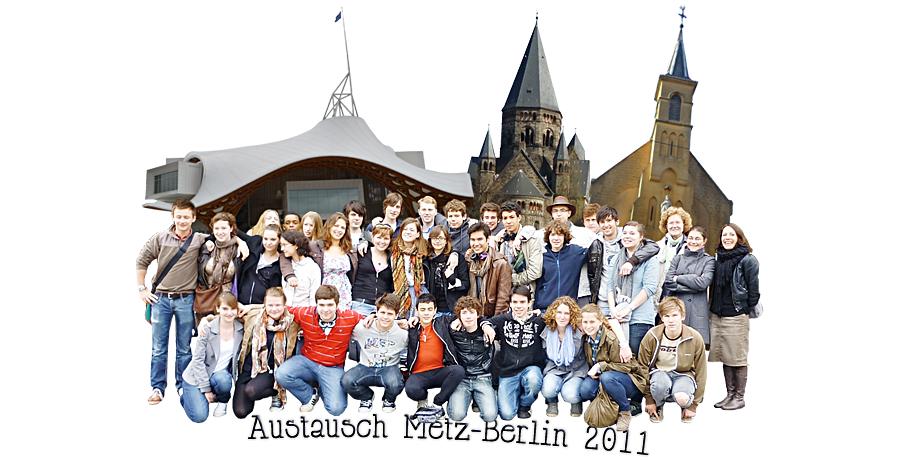 Austausch Metz-Berlin 2011