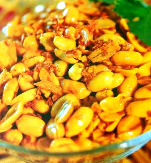 Resepi Kacang Tanah Goreng Bawang Putih