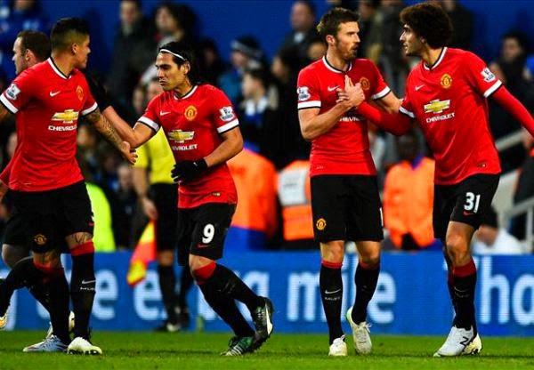 Hasil pertandingan Liga Inggris 2015 QPR vs Manchester United poin penuh bagi Setan Merah