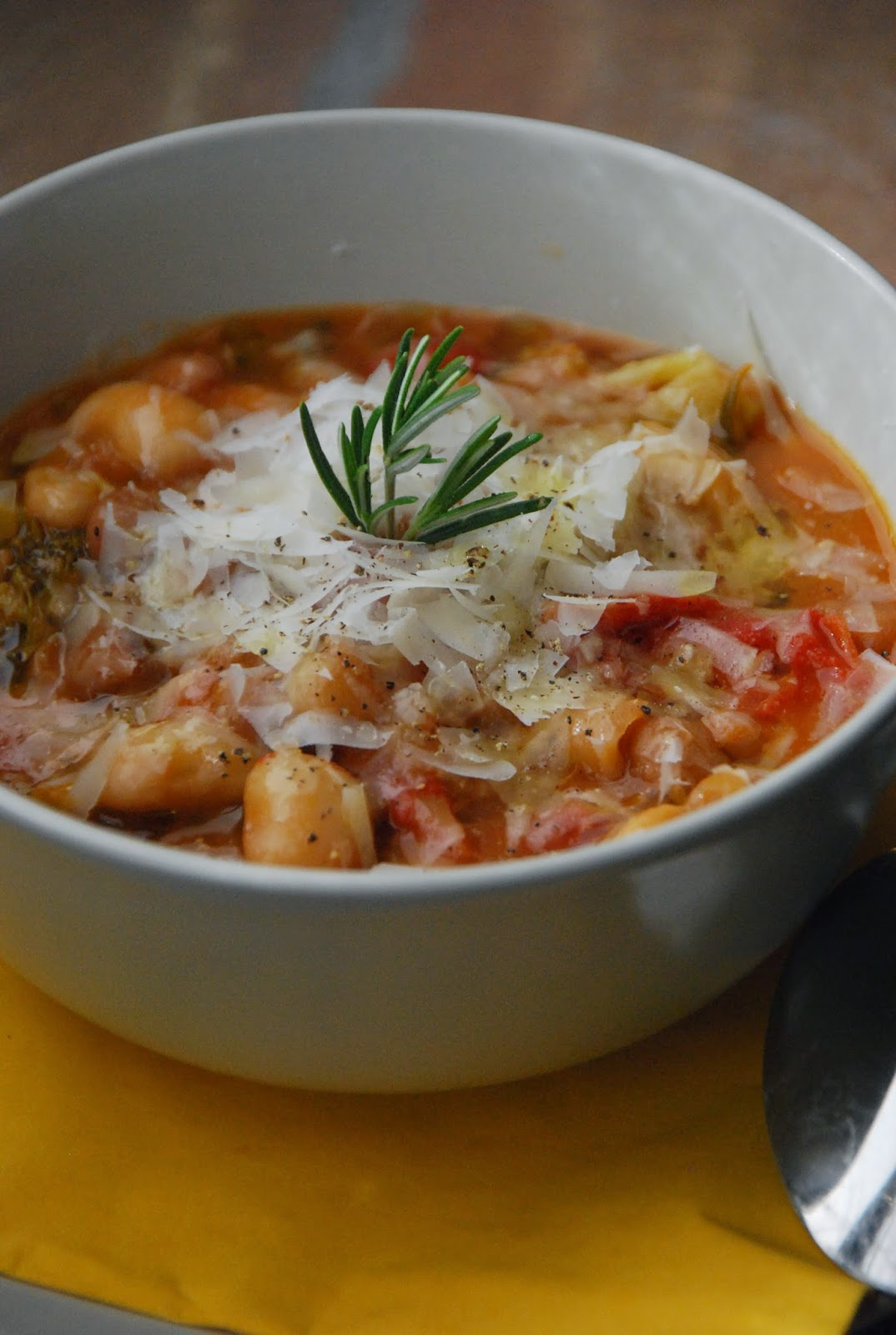 una zuppa che riscalda il cuore.....