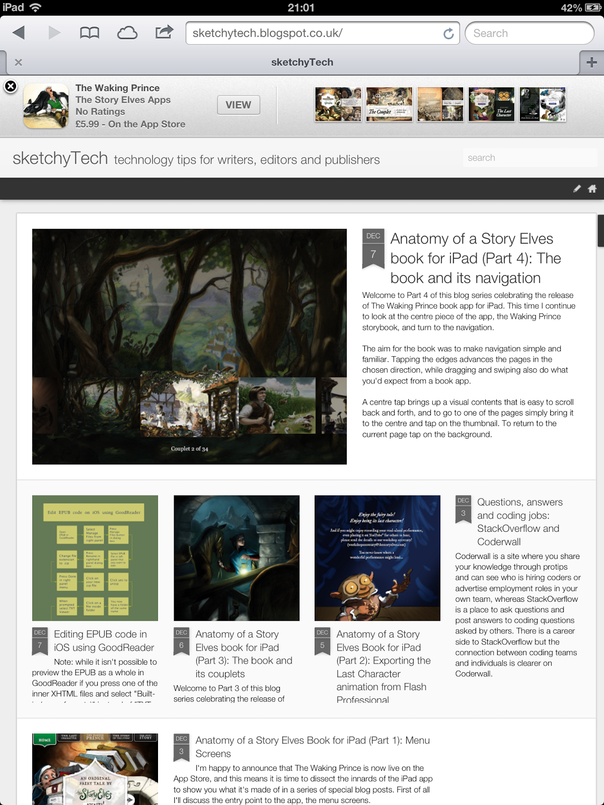 Adjusting the viewport for iPad in Blogger (dynamic template) and ...