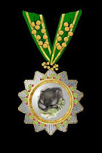 The Hoche-Affeburg Grand Order of the Wombat with Acacia Clasp