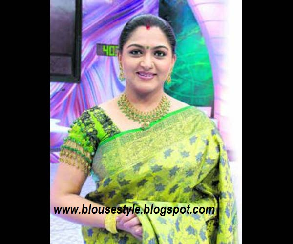 Kushboo Jackpot Blouse Designs 30