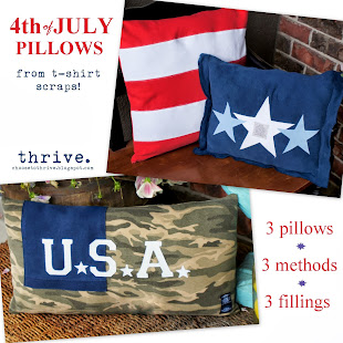 4th of July Pillows