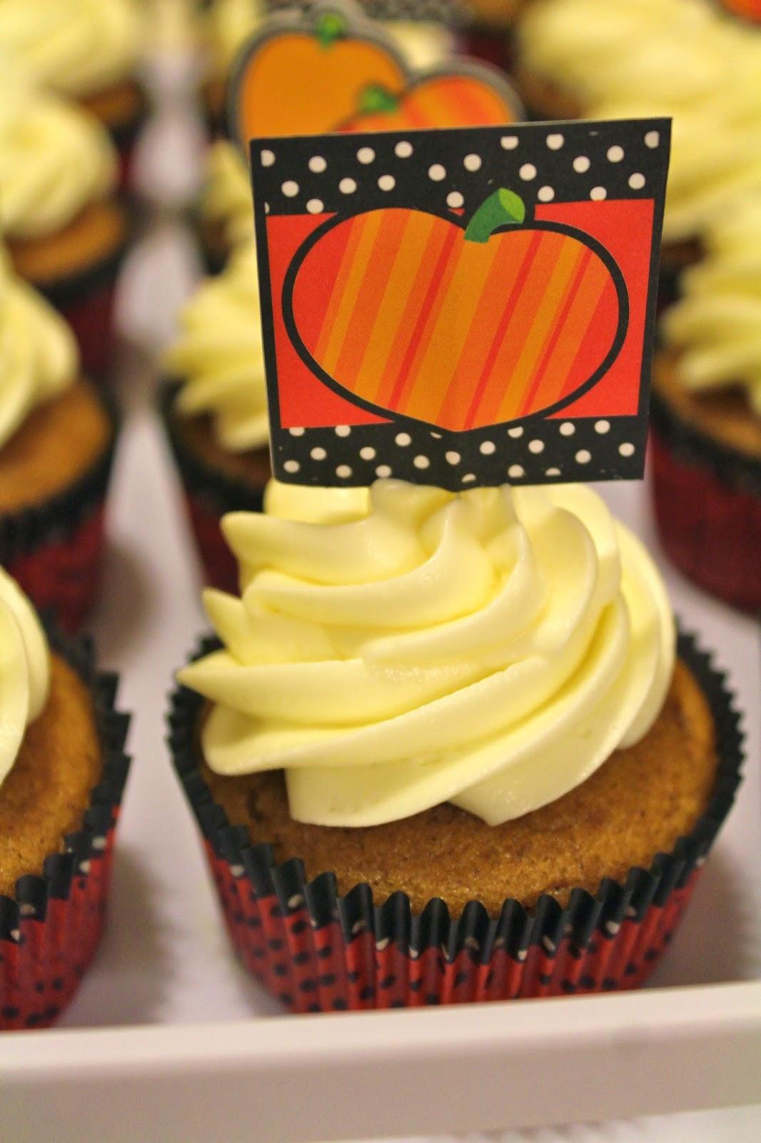 Blog As You Bake Pumpkin Cupcakes With Maple Cream Cheese
