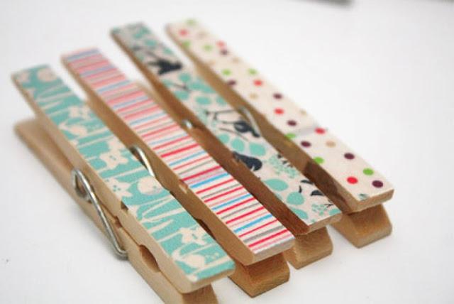 I d e a decorar la casa con washi tape - Decorar con washi tape ...