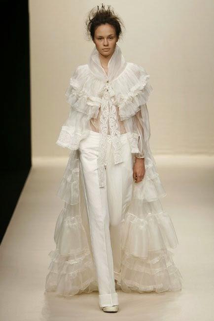 Almudena\'s Dream Wedding Ideas: Novias con pantalones