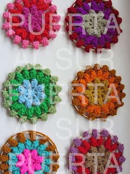 Decorar Paredes Con Con Círculos De Crochet