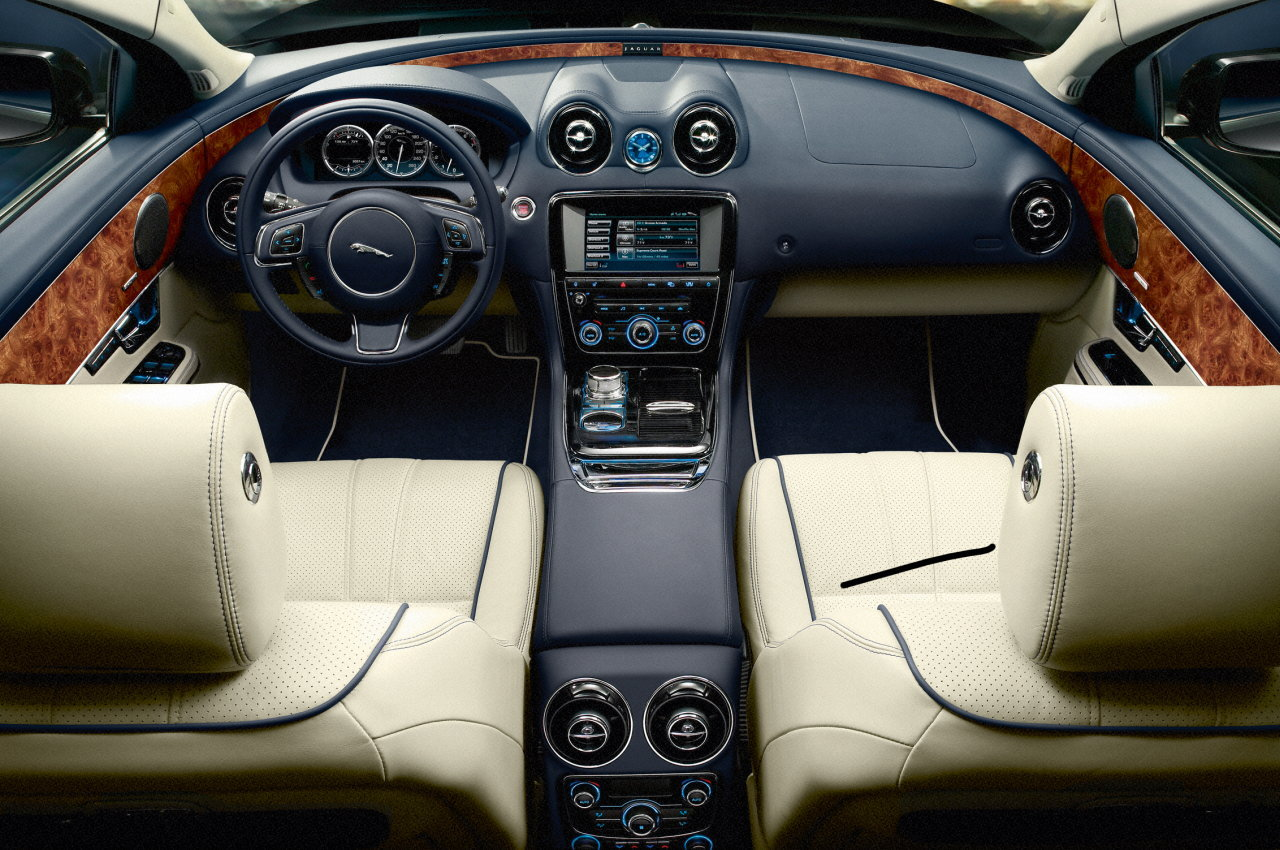 jaguar xj interior its my car club. Black Bedroom Furniture Sets. Home Design Ideas