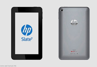 HP Slate 7 user guide manual pdf