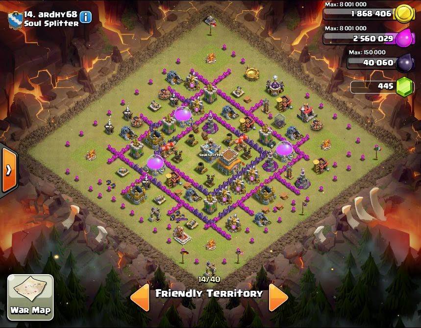 ardhy86 - COC Clans War Base