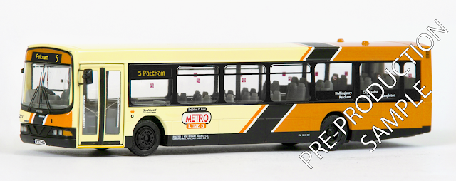 EFE PRE-PRO SAMPLE 27630 - Wright Renown - Brighton & Hove Metro Registration number R322 HCD, fleet number 222. Operates route 5 to Patcham. Scheduled for a June Release. RRP £34.50