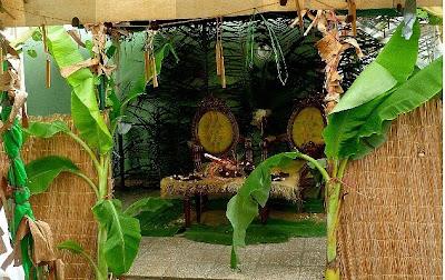 Mikanda Ndjassi ( Nôtre Vêtement ): Décoration nid des mariés...