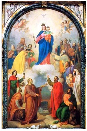 Jean-Paul II - François - Benoit XVI - Sainte Vierge - DPTN