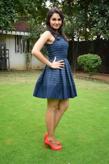 Actress Andrea Jeremiah  Pictures in Short Dress at Valiyavan Press Meet  22